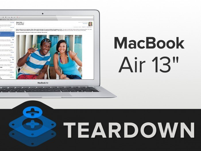 macbook air 13 ifixit
