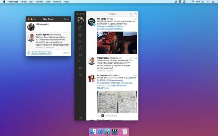 Tweetbot 2 App for OS X Yosemite