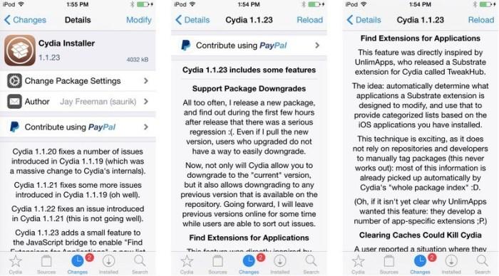 cydia 1.1.23