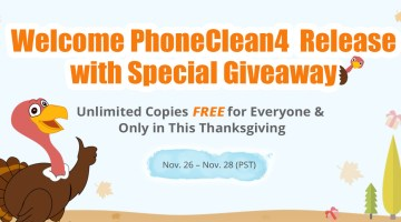 Get Free PhoneClean & Enjoy AnyTrans 50% Off