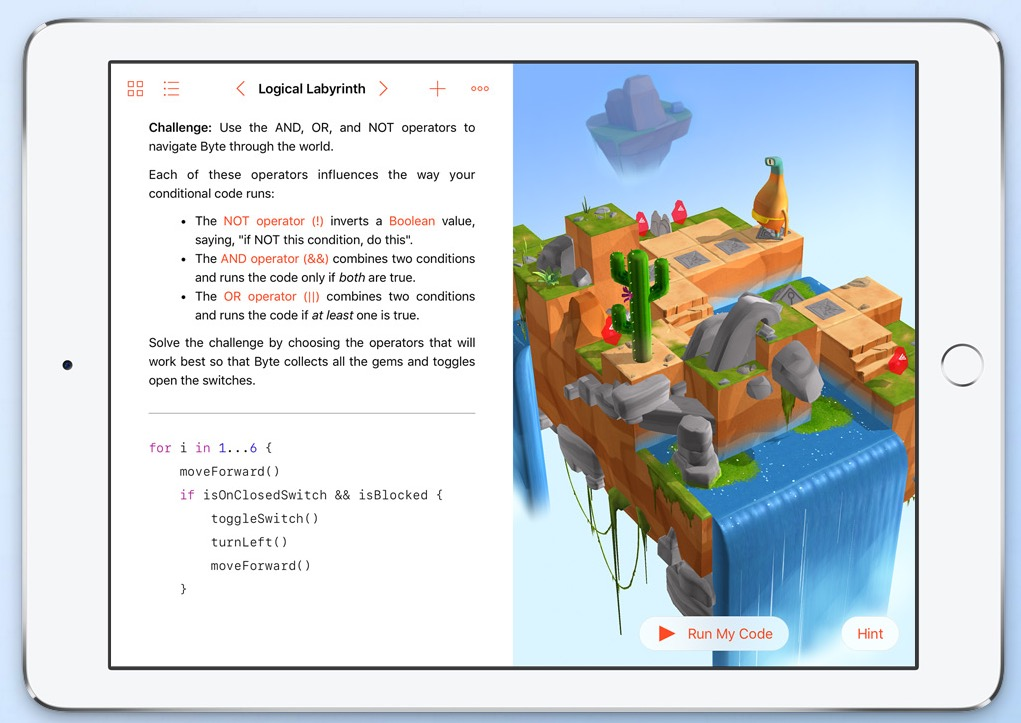 Swift Playgrounds1