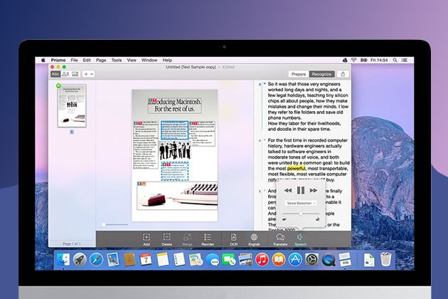 Prizmo 3 Scanning for Mac for $29