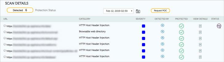 web application vulnerability scanner