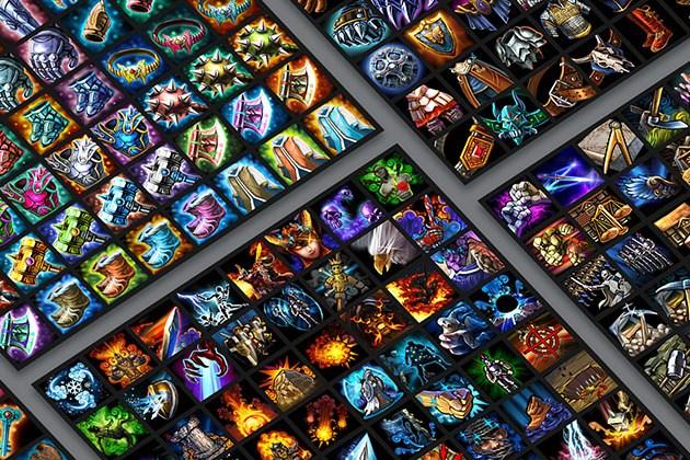 600+ Fantasy RPG Game Icons & Assets Bundle for $29