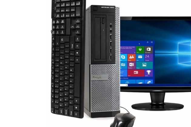 "Dell OptiPlex 7010 Desktop PC, 3.40GHz Intel i7 Quad Core Gen 3, 16GB RAM, 2TB SATA HD, Windows 10 Home 64 bit, 22"" Widescreen Screen (Renewed) for $462"