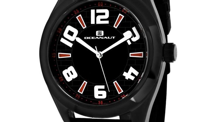 Oceanaut Men's Vault Black Dial Watch – OC7511 for $148
