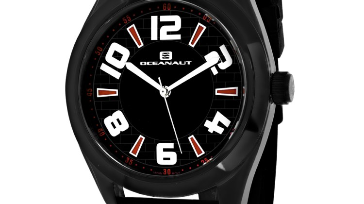 Oceanaut Men's Vault Black Dial Watch – OC7511 for $148
