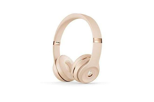 Beats Solo3 Wireless On-Ear Headphones Apple W1 Headphone Chip – Satin Gold (Used, Open Retail Box) for $149