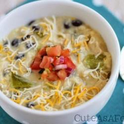 Hatch Chile Chicken Enchilada Soup