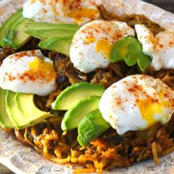 poached egg hatch chile breakfast