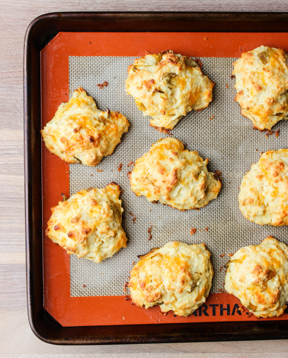 HATCH CHILE DROP BISCUITS the barbee housewife