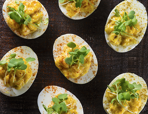 Hatch Deviled Eggs