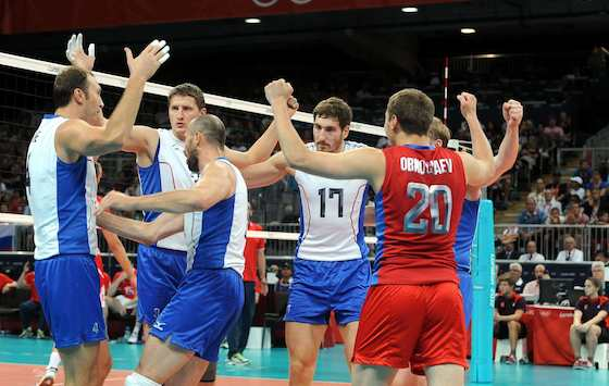 Russia Advances to Men's Volleyball Gold Medal Match ...