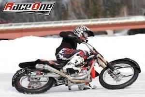 Me doing some ice racing