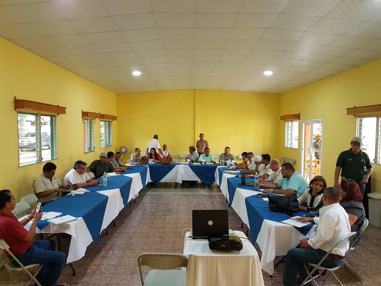 Reunión de Mesa del Café Región Olancho