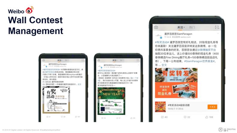 การตลาด Weibo, การตลาดจีน, โฆษณาจีน, Digital Marketing จีน, บุกตลาดจีน, การตลาดออนไลน์จีน