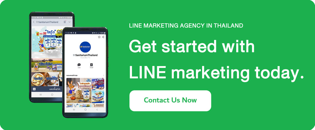 LINE marketing in Thailand