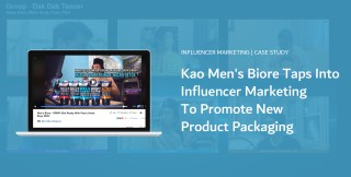 KAO Mens Biore taps into influencer marketing for launch of new product packaging