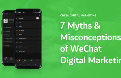 Myths and misconceptions of WeChat China digital marketing