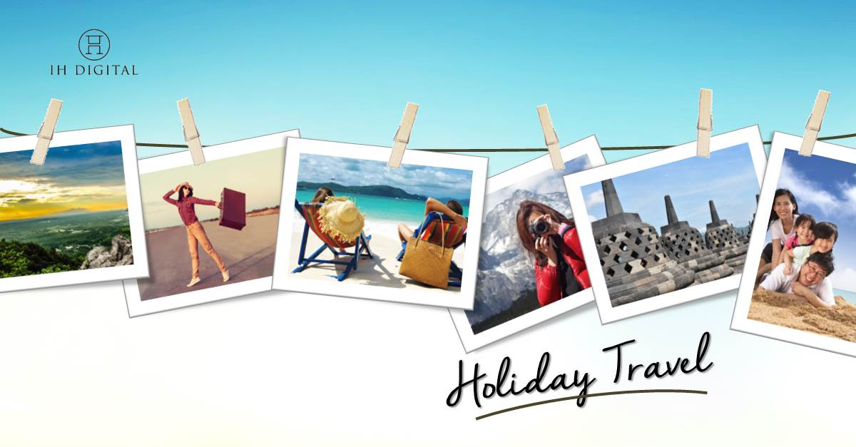 Holiday travel and social media influence
