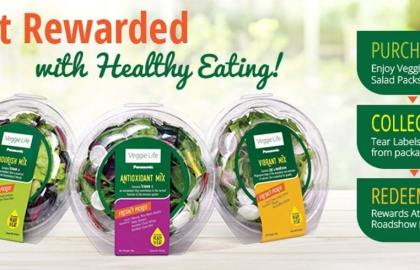Social Media Marketing - Get rewarded for healthy eating with Panasonic