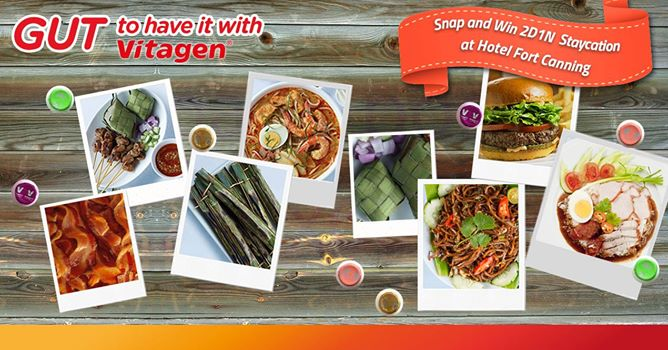 Vitagen Singapore's Facebook app Gut To Have It With Vitagen is inviting people to share their awesome foodie experiences through a photo contest.