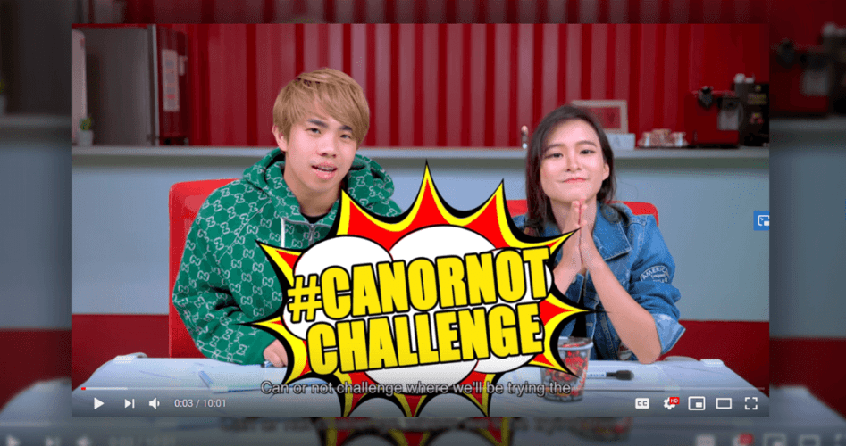 Daebak Fires Up Social Media with #CanOrNotChallenge