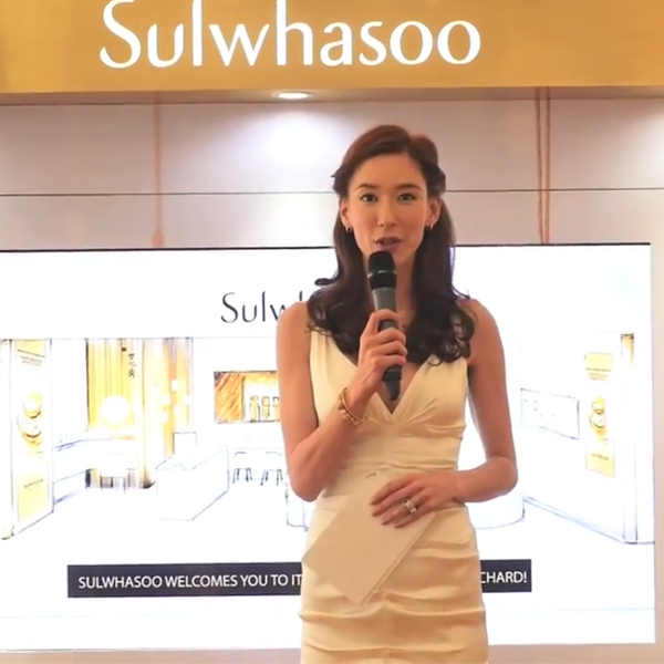 Facebook Live Video for Sulwhasoo Grand Opening at ION Orchard - Creative Services