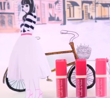 Micro Video for Bourjois Blush in the Air - Creative Services