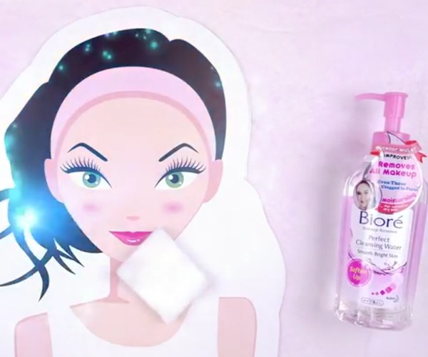 Micro Video for Biore Perfect Cleansing Water - Creative Services
