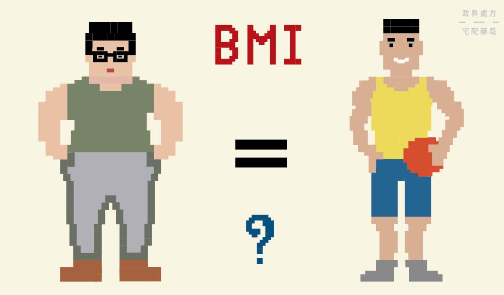 運動員與肥胖者可能擁有相同的BMI