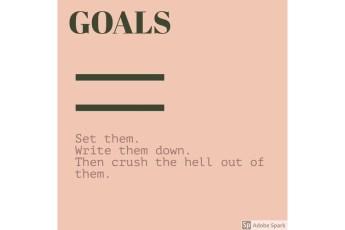 Goals quote