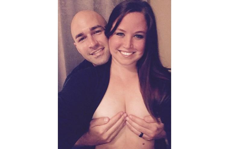 Joshua and Mackenzie Before Preventative Mastectomy