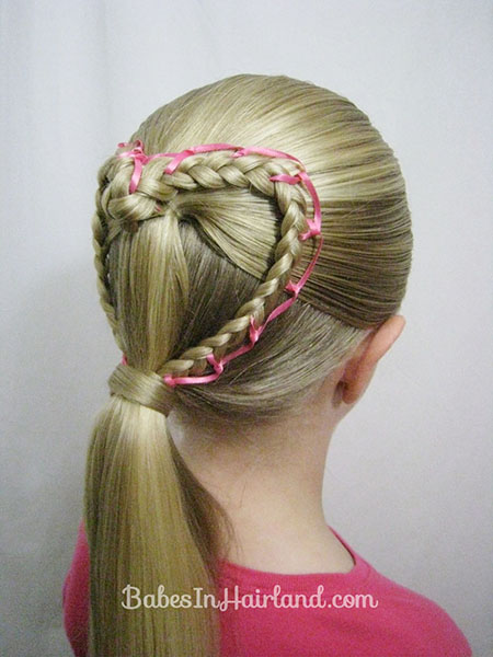15 Adorable Valentines Day Hairstyles For Girls I Heart