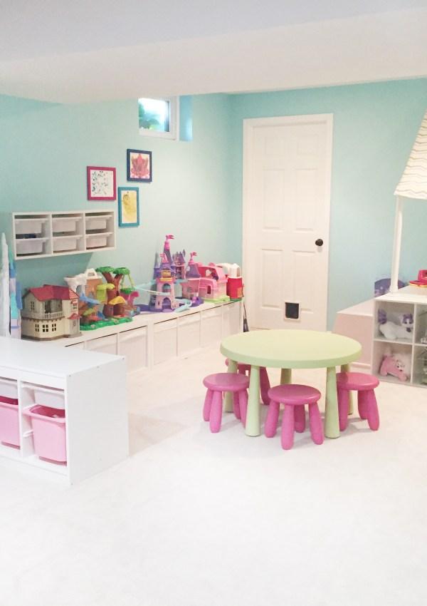 Playroom Storage for Organized Fun