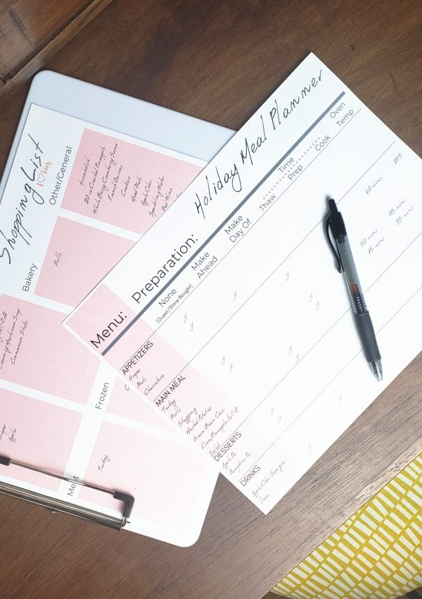 Holiday Meal Planning Made Easy