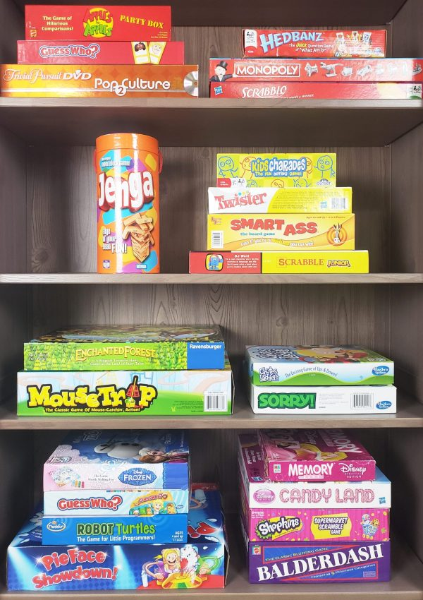 5 Storage Solutions to Win at Game Night