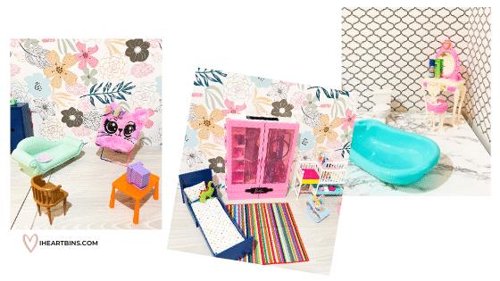 Barbie House Room Ideas