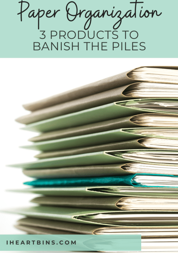 Paper Organization: 3 Products to Banish the Piles