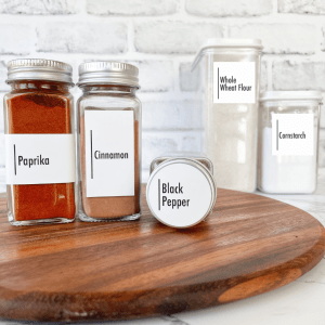 Modern Spice Labels Style 1