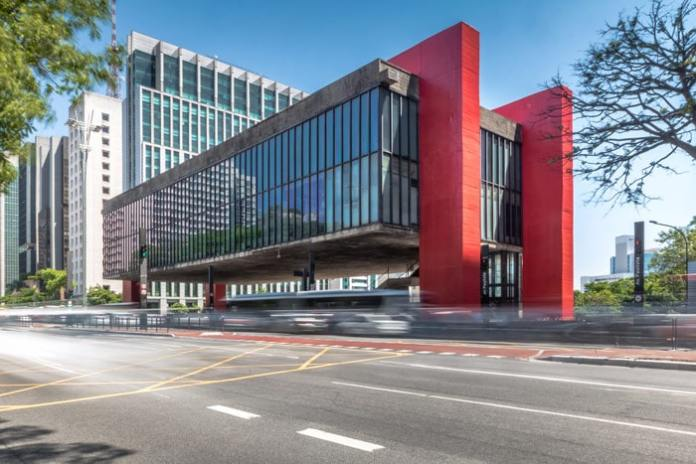 The Museum of Art of São Paulo, MASP, is one of São Paulo points of interest