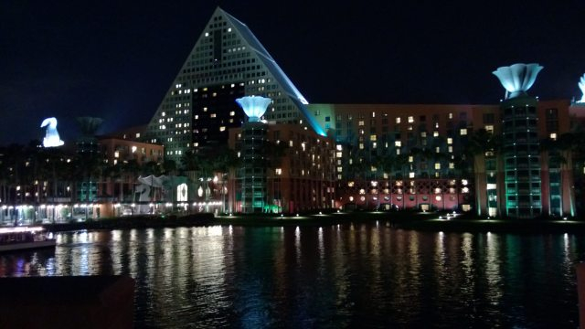 View from the Boardwalk of our Hotel