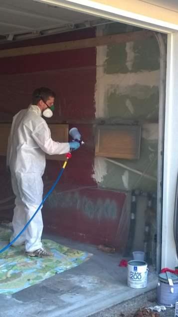 Painting Door 1