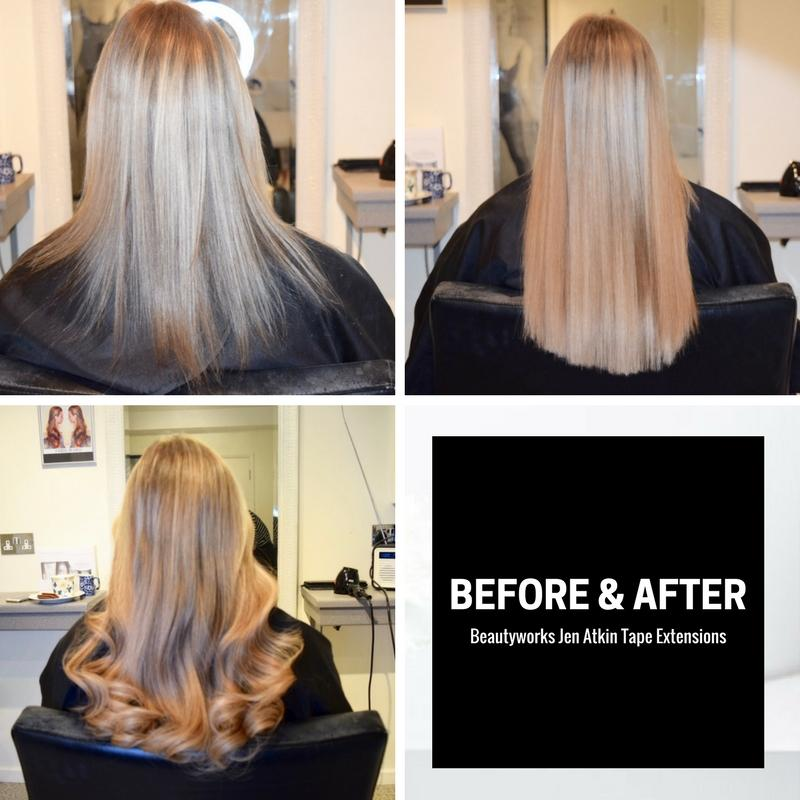 Jen Atkin Invisi Tape Hair Extensions Beauty Works Review