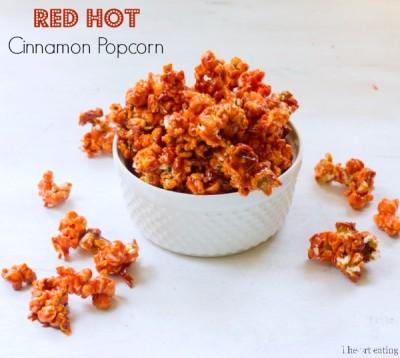 Red Hot Cinnamon Popcorn