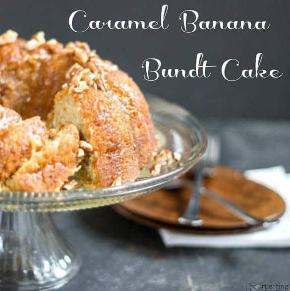 Caramel Banana Bundt Cake