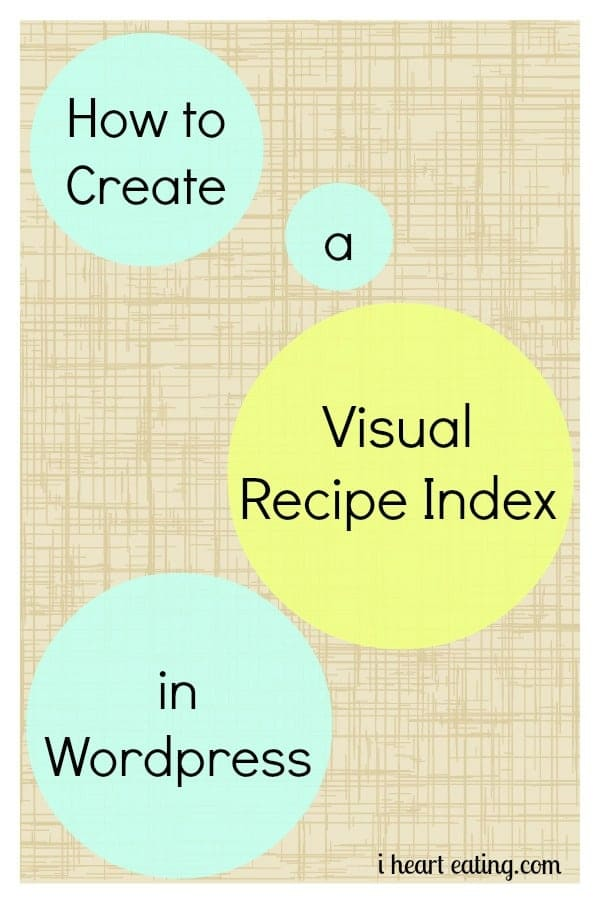 How To Create A Visual Index in WordPress