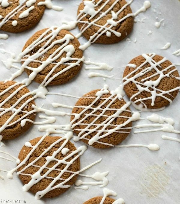 34. Iced Molasses Cookies | I Heart Eating