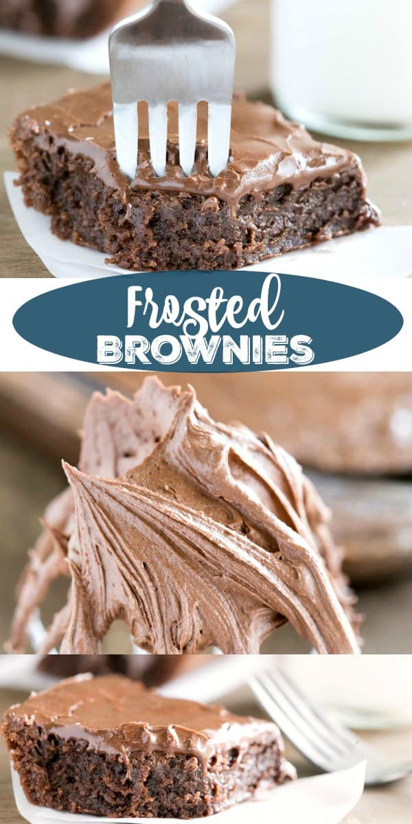 Frosted Brownie Recipe