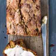 Cinnamon Chip Whole Wheat Zucchini Bread